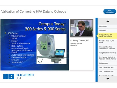 Validation of Converting HFA Data to Octopus featuring Randy Craven, MD
