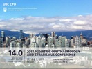 10th Biennial Vancouver Pediatric Ophthalmology and Strabismus Conference