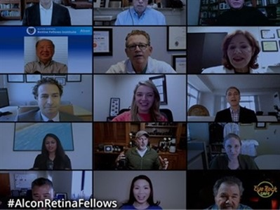 Adapting Hands-on Training for Success in a Virtual World: Alcon's Retina Fellows Institute