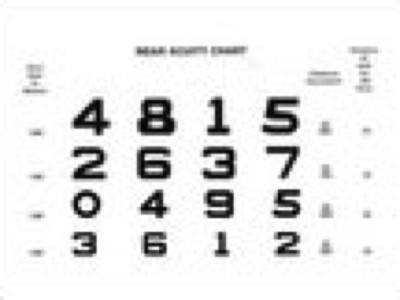 Illiterate Eye Chart Pictures | OphthalmologyWeb: The